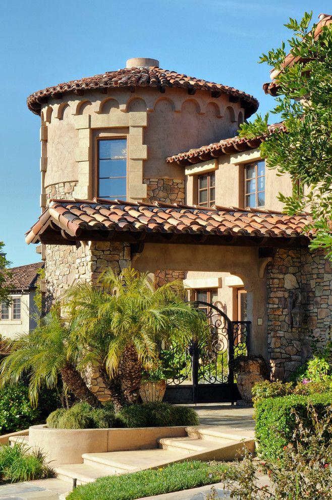 luxury estate mediterranean home via ladyluxury - Mediterranean Homes Design