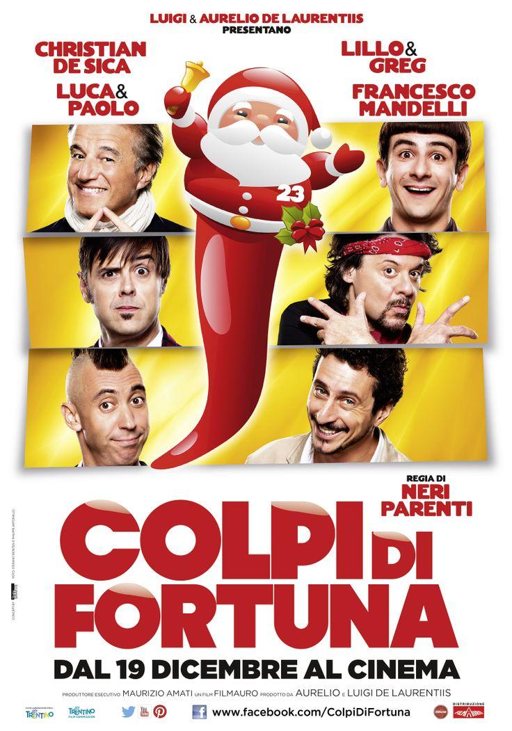 Il poster ufficiale di COLPI DI FORTUNA