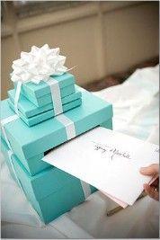 and again, Ashlee...Tiffany box