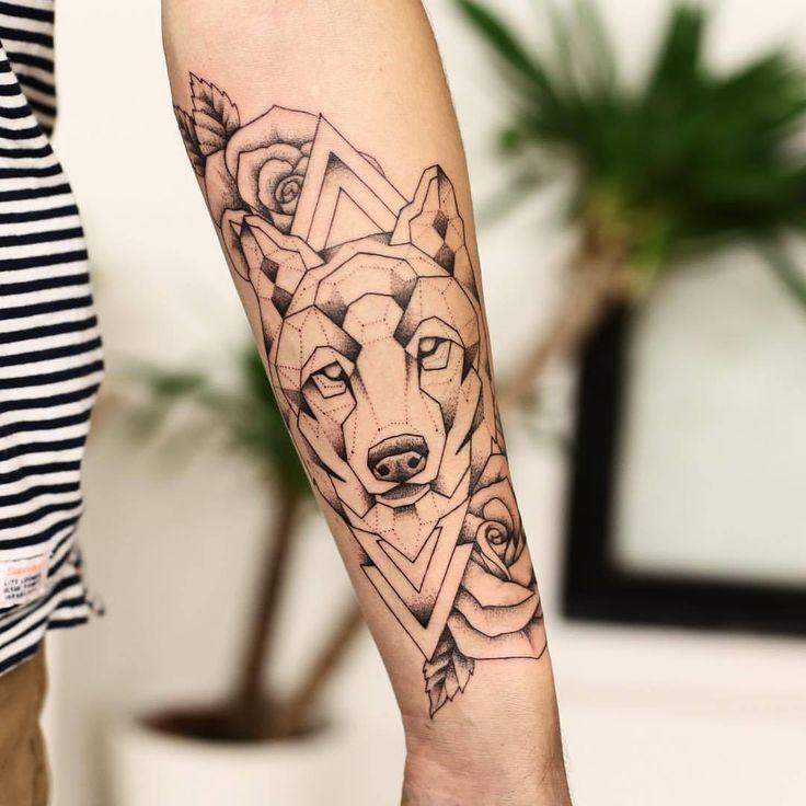 les 25 meilleures id es de la cat gorie tatouages de loup sur pinterest tatouage de manches d. Black Bedroom Furniture Sets. Home Design Ideas