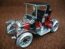 Resultado de imagen para autos hechos con latas de aluminio