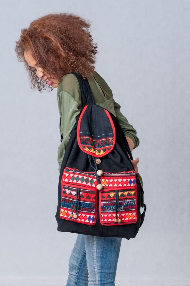 Plecak Thai Tribal Crafts z certyfikatem WFTO - KOKOworld - Plecaki www.kokoworld.pl #kokoworld #thai #tribal #tribalbag #handmade #ethno