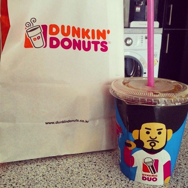 Starting the morning right with a #DunkinDonuts pit stop.