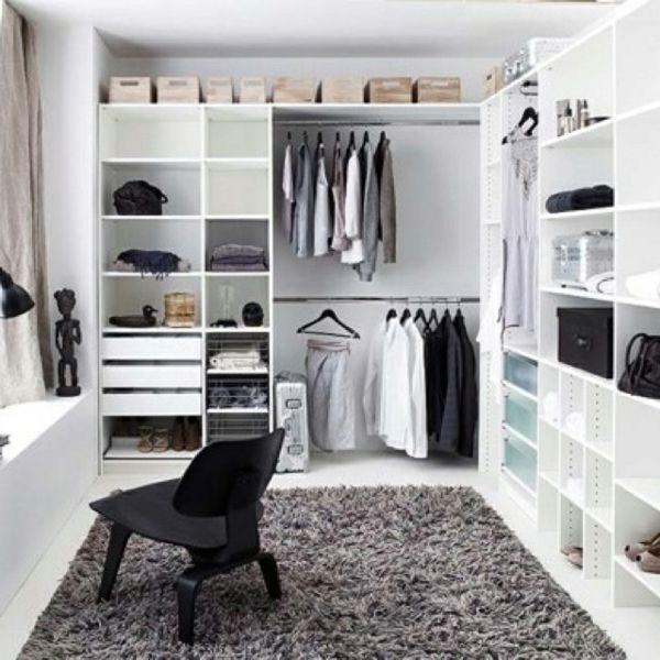 begehbarer kleiderschrank Kleiderschranksysteme schminktisch