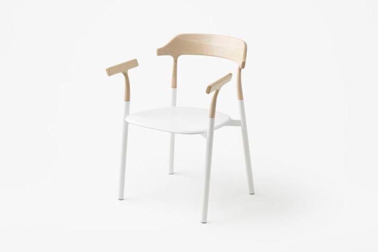 Дизайнерские стулья Twig в стиле минимализм. Работа японского дизайнера Oki Sato. #Design #Interior #Furniture #Chair
