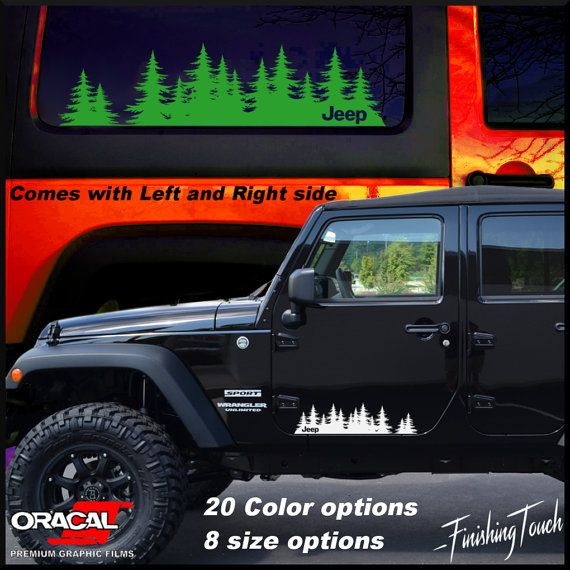 Best Offroad Images On Pinterest Offroad Jeep Decals And - Custom windo decals for jeepsjeep hood decals and stickers custom and replica jeep decals now
