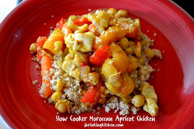 ... Chicken, Moroccan Apricot, Apricot Chicken, White Wine, Slow Cooker