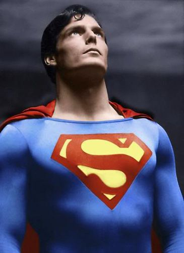 Image Detail for - cape of Superman would be Christopher Reeve in 1978's Superman ...I always thought he looked hot.
