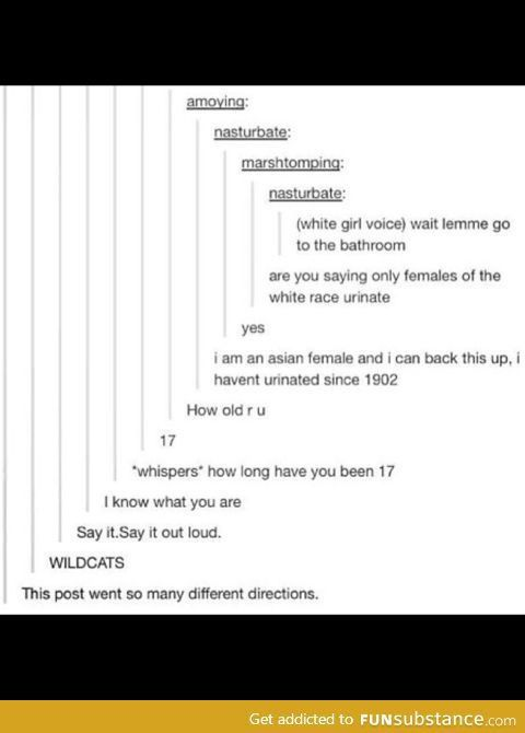 I don't know what I just read, but too funny