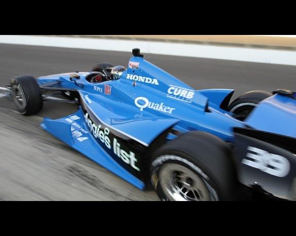 Bryan Clauson, No. 39 Sarah Fisher Hartman Racing Honda
