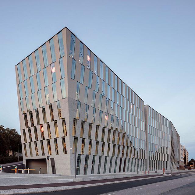 OP-Pohjola #Vallila Campus - #JKMM Architects - #Helsinki #Finland