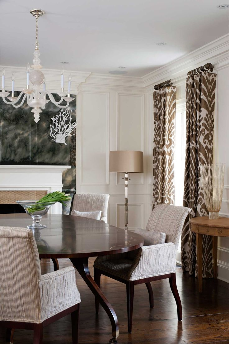 1000 images about classic glam on pinterest home design for Glam dining room ideas