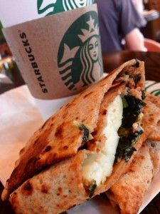 spinach and feta wrap starbucks copycat recipe | Omg this is my favorite thing to get at Starbucks!!!