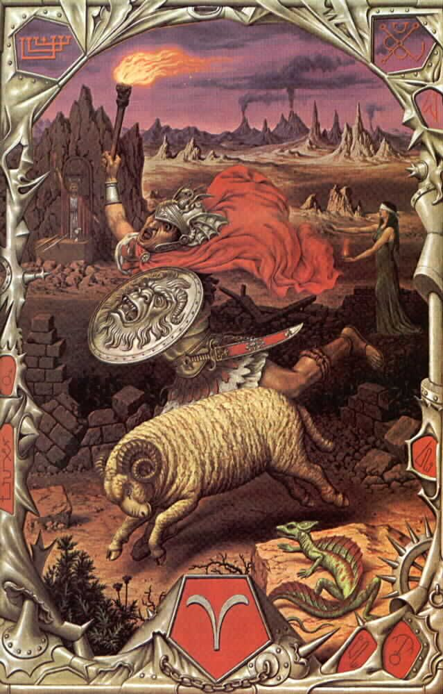 La mitologia de los signos zodiacales ARIES