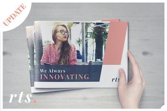 Rina Brochure by rinatyassari on @creativemarket