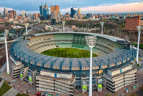 Mega Engenharia: Estádio Melbourne cricket ground