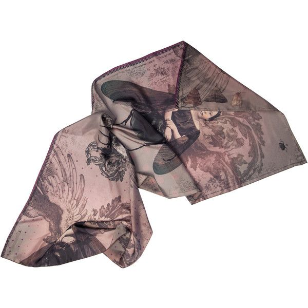 ibride Isadora Duncan Silk Scarf (€160) ❤ liked on Polyvore featuring men's fashion, men's accessories, men's scarves, scarves, accessories, accessories - scarves and mens silk scarves