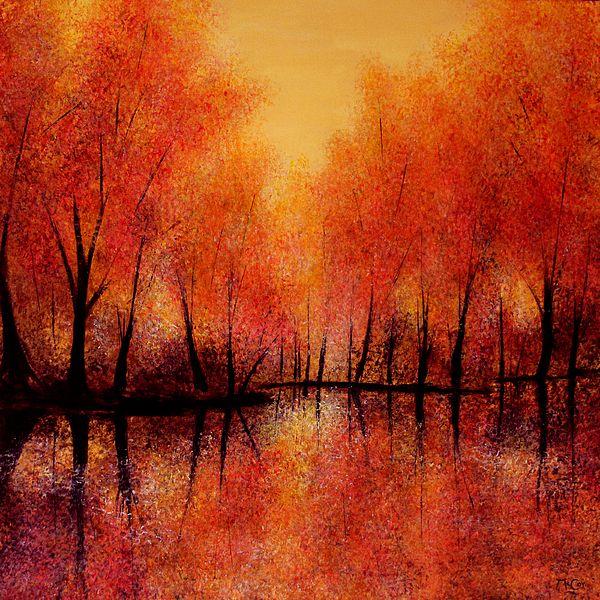 Autumn Reflections - Art by Kirstin McCoy