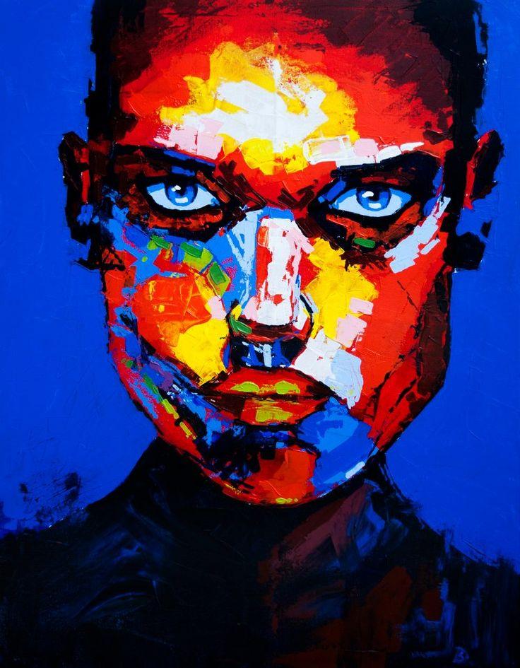 (Close) Von - Acrylic on canvas (60 x 80cm)