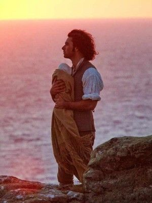 Poldark | baby | BBC | Photos is there anything sexier than a man holding a baby?