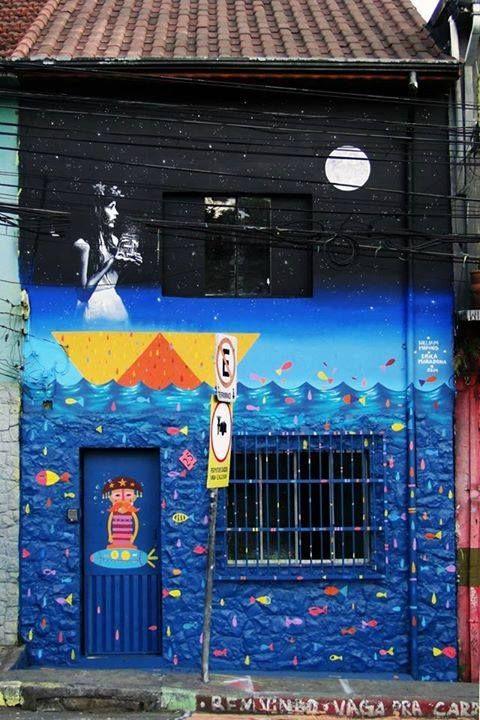 "by William Mophos + Erica Maradona - ""Dama da Noite"" - Sao Paulo, Brazil - 2014"