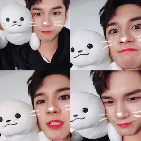 Yes yes Seongwoo we know you're cute