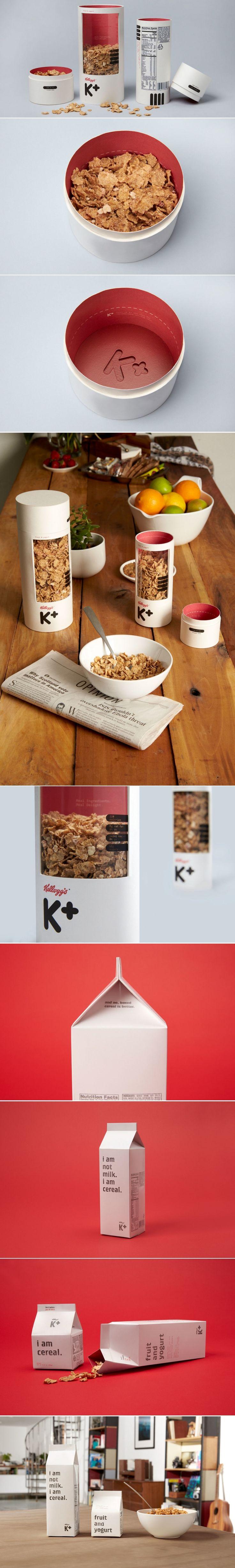 Concept: Kellog's Special K Cereal — The Dieline | Packaging & Branding Design & Innovation News