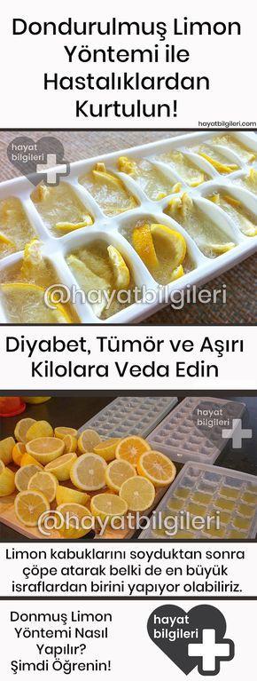 Dondurulmuş Limon ile Hastalıklardan Kurtulun – Diyabet, Tümör ve Aşırı Kilolara Veda Edin – Senem Akman