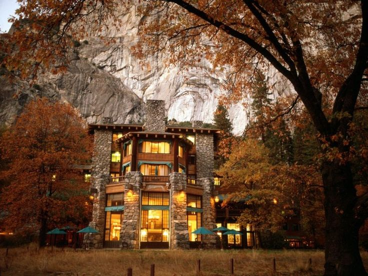 These National Park Hotels Are As Pretty As the Parks They're In : Condé Nast Traveler. Yosemite Park, CA