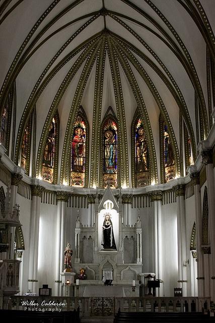 La Ermita Church, Inside view, Cali Colombia