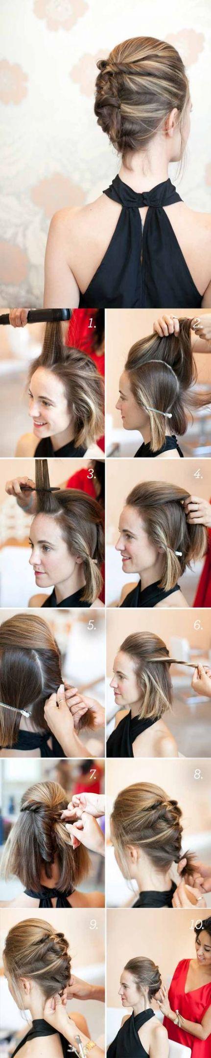 Haircut diy tutorials french twists 27+ trendy Ideas