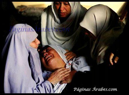 Más de la mitad de las familias, 53,6% han sufrido agresiones por parte del ejército israelí...
