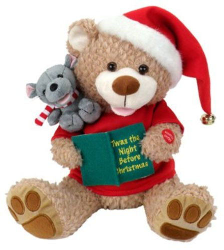 Talking Toys 145945: Chantilly Lane Chris And Holly - Twas The Night Before Christmas -> BUY IT NOW ONLY: $45.14 on eBay!