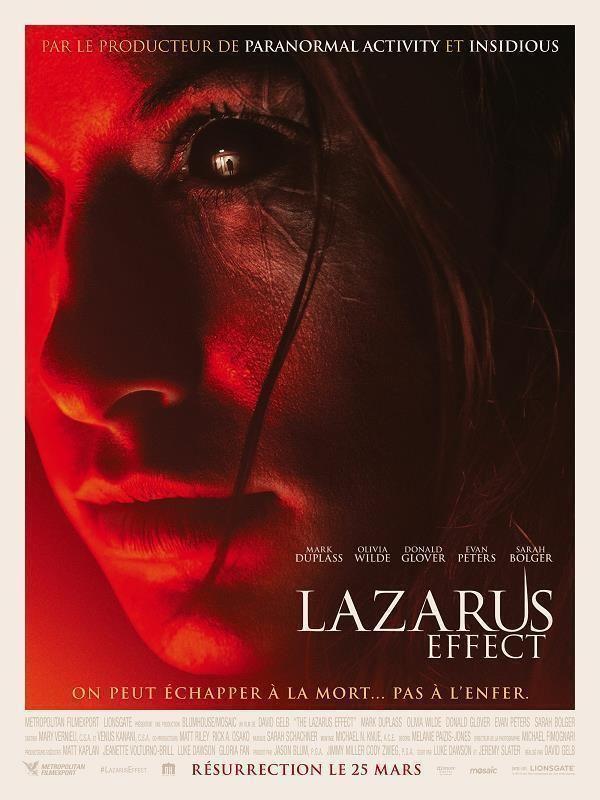 The Lazarus Effect  2015  Actors: Olivia Wilde, Mark Duplass, Donald Glover, Evan Peters, Sarah Bolger, Bruno Gunn, Ray Wise, Amy Aquino, Sean T. Krishnan  Languages : English, french  Free download