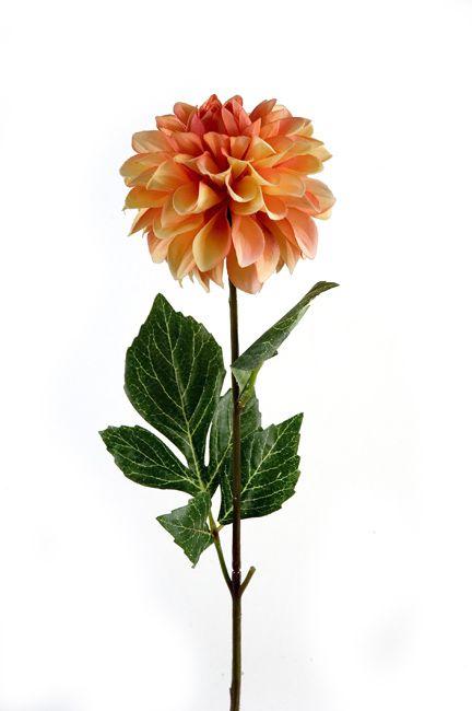 #dalia #flower #orange #decoration for #home #homeliving by #ZAROS www.zarossa.gr