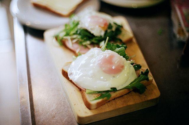 Eggy-goodness! #Bread #Eggs #Food