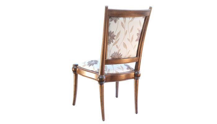 A Cadeira Império sem braço, possui detalhes refinados e clássicos! Encosto e assento estofado em chenile. Disponível em outros acabamentos e tecidos, conforme nosso mostruário. Medidas: 60l x 105h x 59p. http://www.moradamoveis.com/