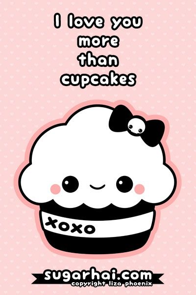 Cute xo cupcake
