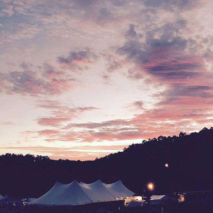 Sunset at Falls Festival Lorne 2016/2017 #fallsfestival
