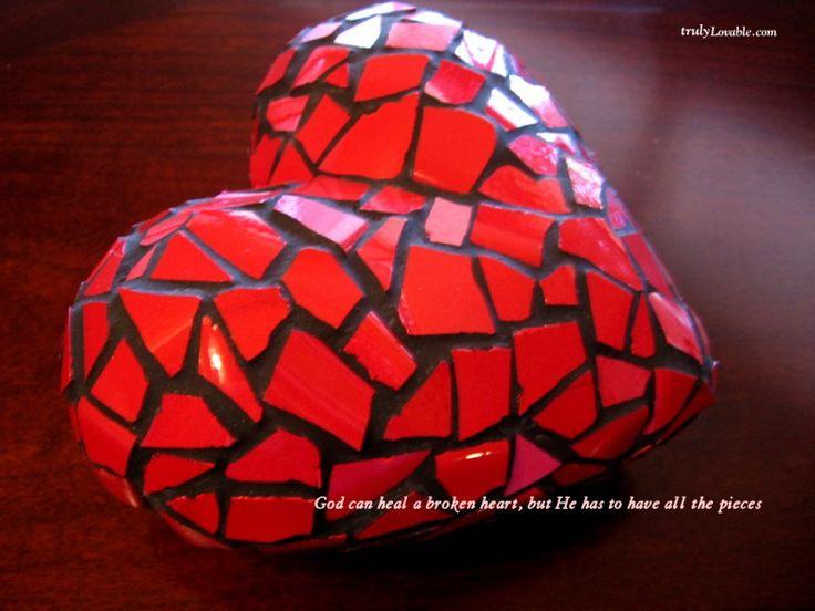 Tapeta Zlomené srdce 800x600