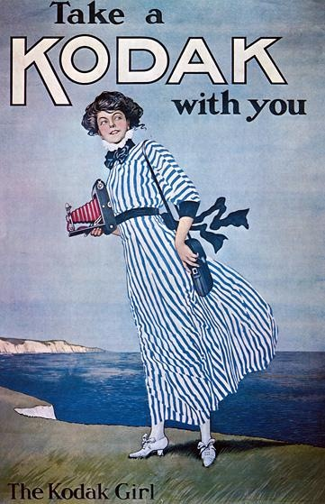 Take a Kodak with you | Retro advertising | Vintage poster #Affiches #Retro #Vintage #Ads #Adverts #SXX #Publicidad