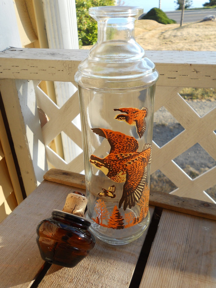 1968 Collectors Edition Cabin Still Quail Decanter