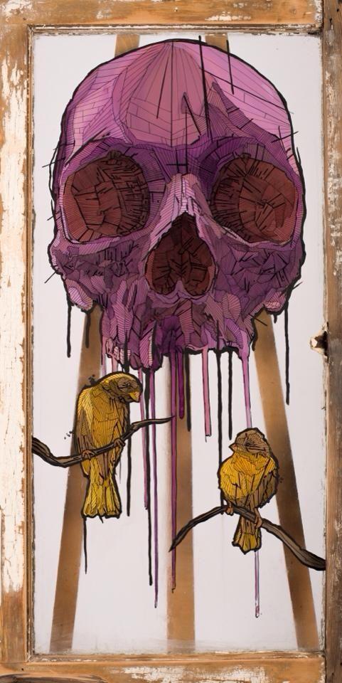 skull by Chris Austin