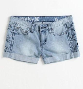 Hurley Womens Novelty Shorts