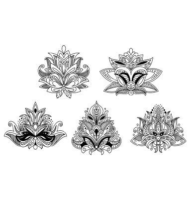 Buddhist Lotus Flower Tattoo Designs