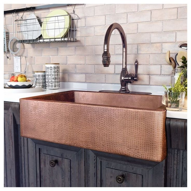 Adam 33 L X 22 W Undermount Kitchen Sink Farmhouse Sink