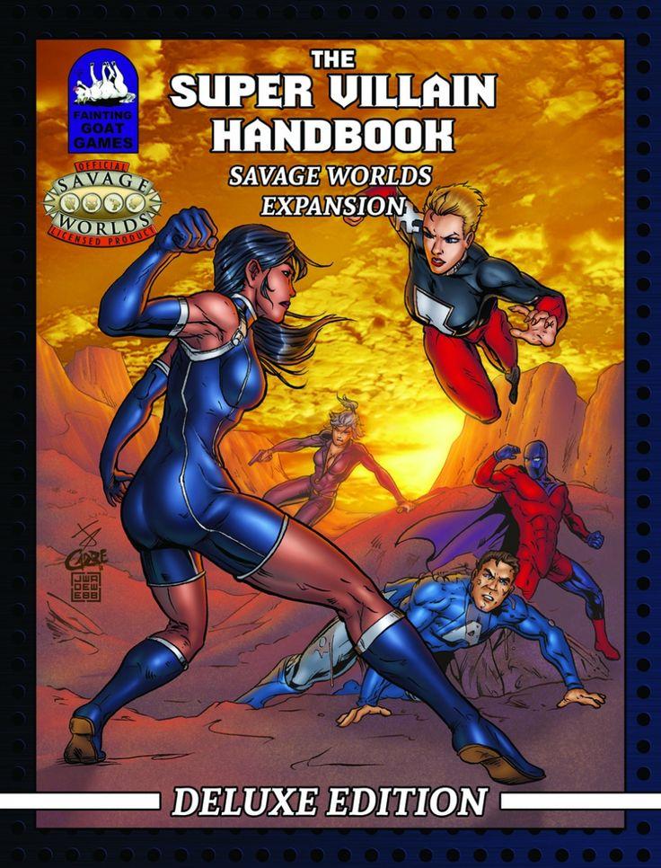 [Savage Worlds]The Super Villain Handbook Deluxe Edition Conversion Pack - Fainting Goat Games | DriveThruRPG.com