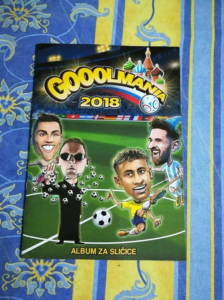 Fifa World Cup 2018 Russia Gooolmania Album Empty Vuoto Leeralbum Apsolut World Cup 2018 World Cup Fifa World Cup