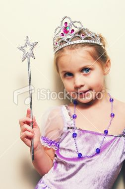 Little Girl Princess Royalty Free Stock Photo