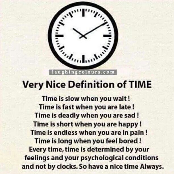 Definition Of Time. #time #important
